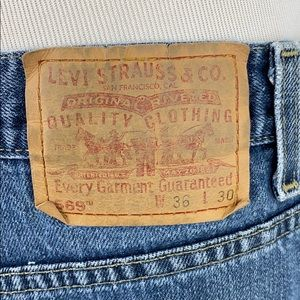 Levi's Jeans - Levi's 569 Loose Straight Fit